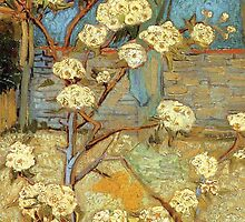 Van Gogh- Pear Tree by drewkrispies