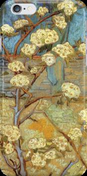 Van Gogh- Pear Tree by drewkrispies