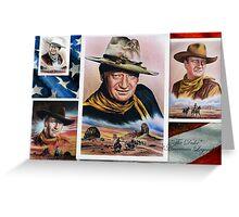 The Duke American Legend Greeting Card