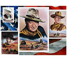 The Duke American Legend Photographic Print