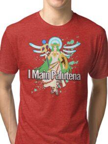 I Main Palutena - Super Smash Bros Tri-blend T-Shirt