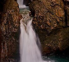 Sigmund-Thum Klamm Lower Falls in Tirol by PeachPark