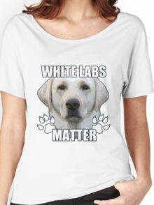 White labs matter Women's Relaxed Fit T-Shirt