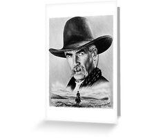 Sam Elliot  Lone Rider Greeting Card