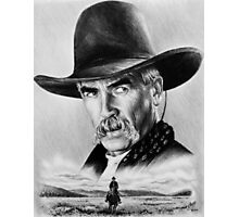 Sam Elliot  Lone Rider Photographic Print