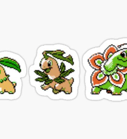 Chikorita evolution  Sticker