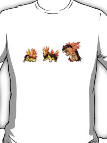 Cyndaquil evolution  T-Shirt