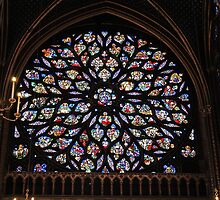 Sainte-Chapelle Rose by Elena Skvortsova