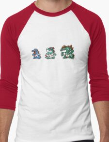Totodile evolution  Men's Baseball ¾ T-Shirt