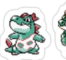 Totodile evolution  Sticker
