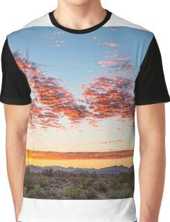 Southwest Desert Colorful Sky Graphic T-Shirt