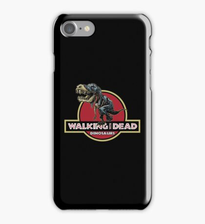 Walking With Dead Dinosaurs iPhone Case/Skin