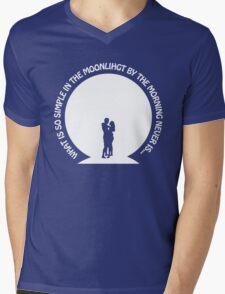 Lua-so simple Mens V-Neck T-Shirt