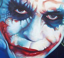 The Joker Heath Ledger by Rachel Greenbank