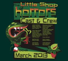 CAST & CREW - Little Shop of Horrors - DCHS 2013 by trekspanner