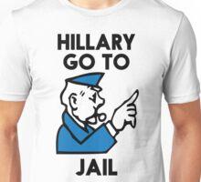 Hillary Clinton Go To Jail Unisex T-Shirt