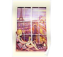 A Window to Paris Poster