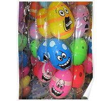 Crazy Eggs, Easter fun Poster