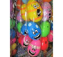 Crazy Eggs, Easter fun Photographic Print