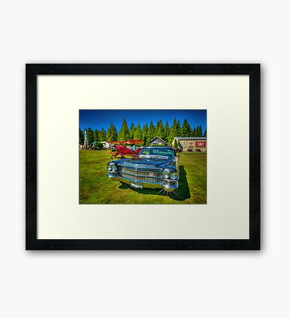 Airport limo Framed Print