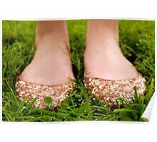 Sparkly Feetsies Poster
