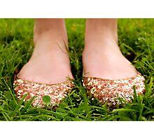 Sparkly Feetsies Photographic Print