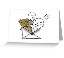 Stuffed Letter Greeting Card