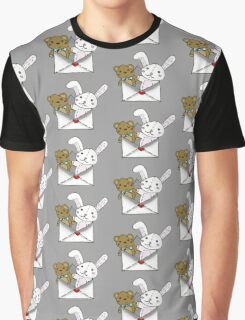 Stuffed Letter Graphic T-Shirt