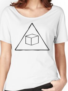 Delta Cubes Will Never Die! (Black) Women's Relaxed Fit T-Shirt