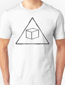 Delta Cubes Will Never Die! (Black) T-Shirt