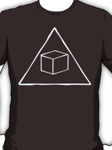Delta Cubes Will Never Die! (White) T-Shirt