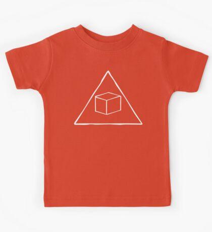 Delta Cubes Will Never Die! (White) Kids Tee