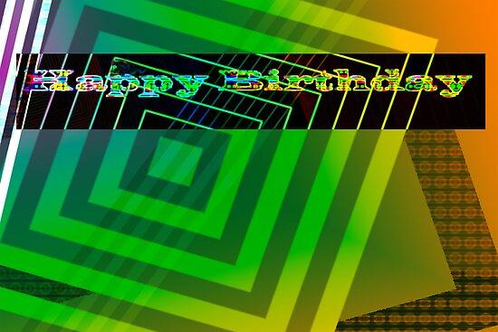 Geometric birthday card by ♥⊱ B. Randi Bailey