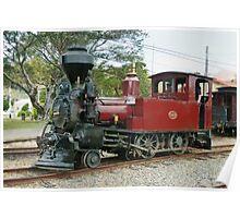 D140 Steam Locomotive  Poster