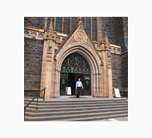 From the steps, St Patrick's Cathedral Melbourne Vic Aust Unisex T-Shirt