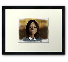 Face the Raven Framed Print