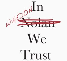 In Whedon We Trust Kids Tee