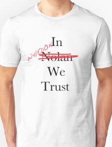 In Whedon We Trust T-Shirt