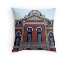 Ridgeway Courthouse Throw Pillow