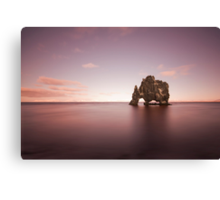 Whisper Of An Ancient Rock Canvas Print