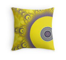 Gold Bugs Throw Pillow