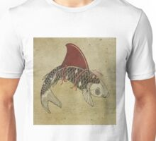 koi shark fin 02 Unisex T-Shirt