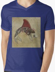 koi shark fin 02 Mens V-Neck T-Shirt
