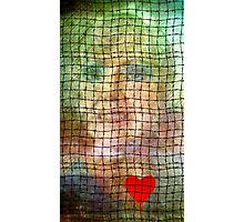 Her Barbed Wire Heart Photographic Print
