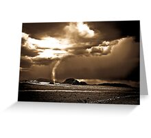 Texas twister Greeting Card