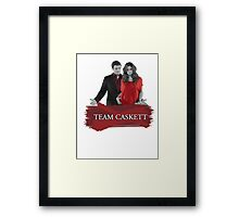 Team Caskett Framed Print