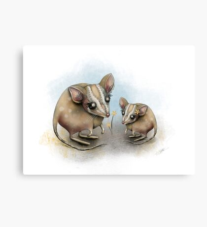blossom buddies Canvas Print