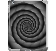 Monochrome Spiral iPad Case/Skin