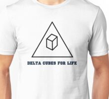 Delta Cubes For Life Unisex T-Shirt