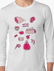 MEAT Long Sleeve T-Shirt